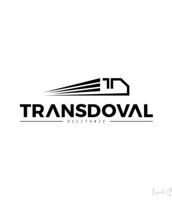 creation logo luxe transporteur